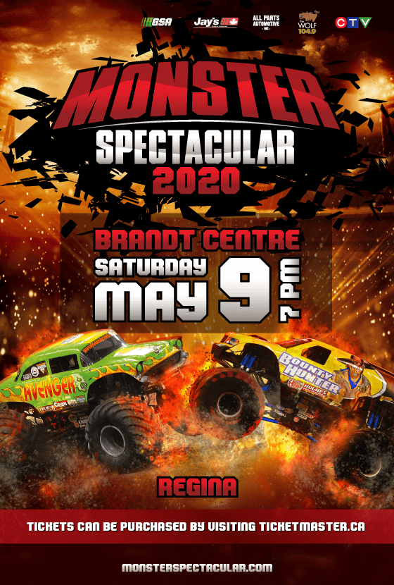 Monster Spectacular – Regina
