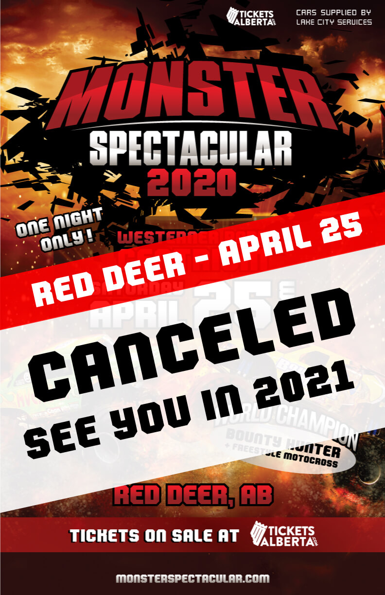 Monster Spectacular – Red Deer