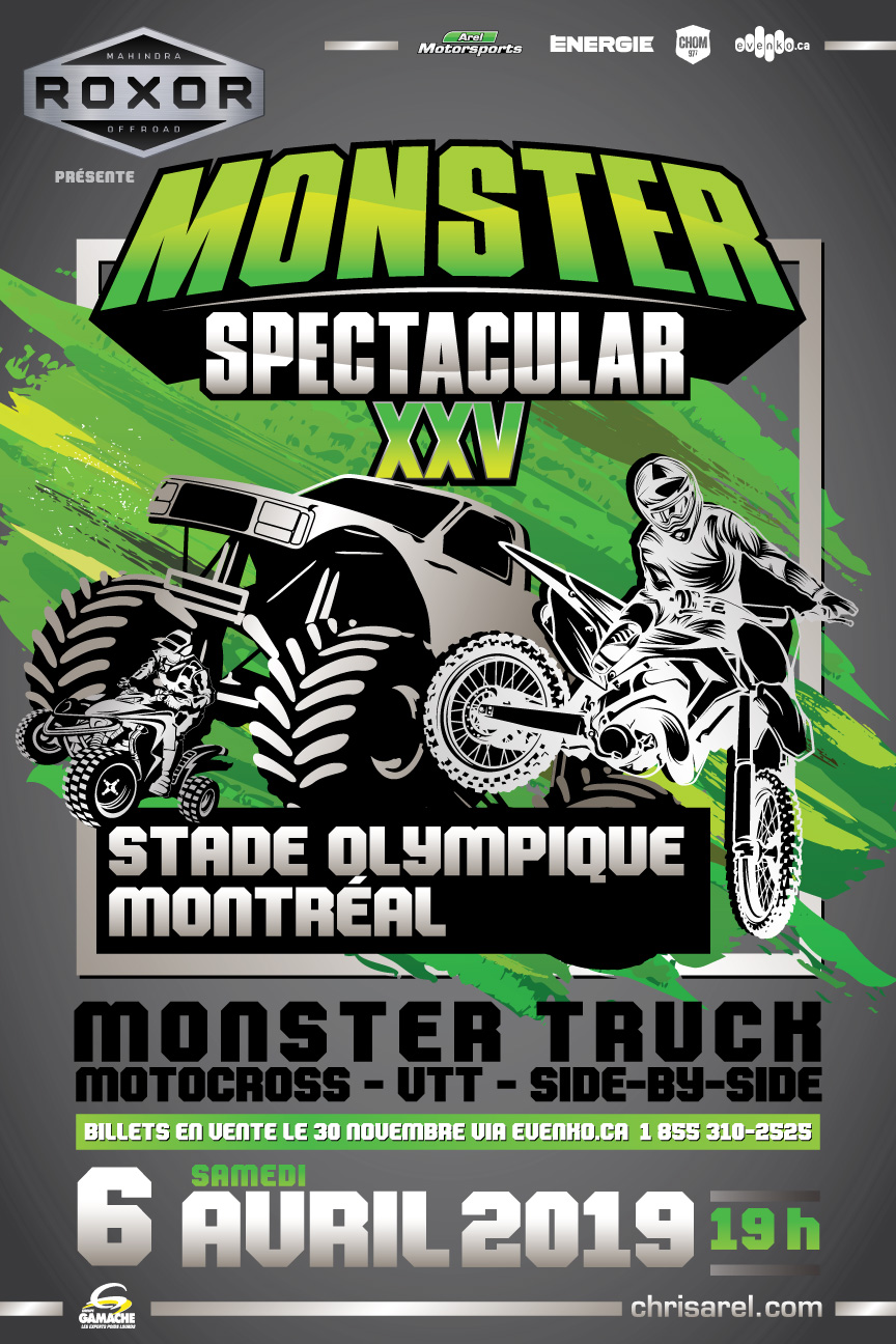Monster Spectacular -Montréal