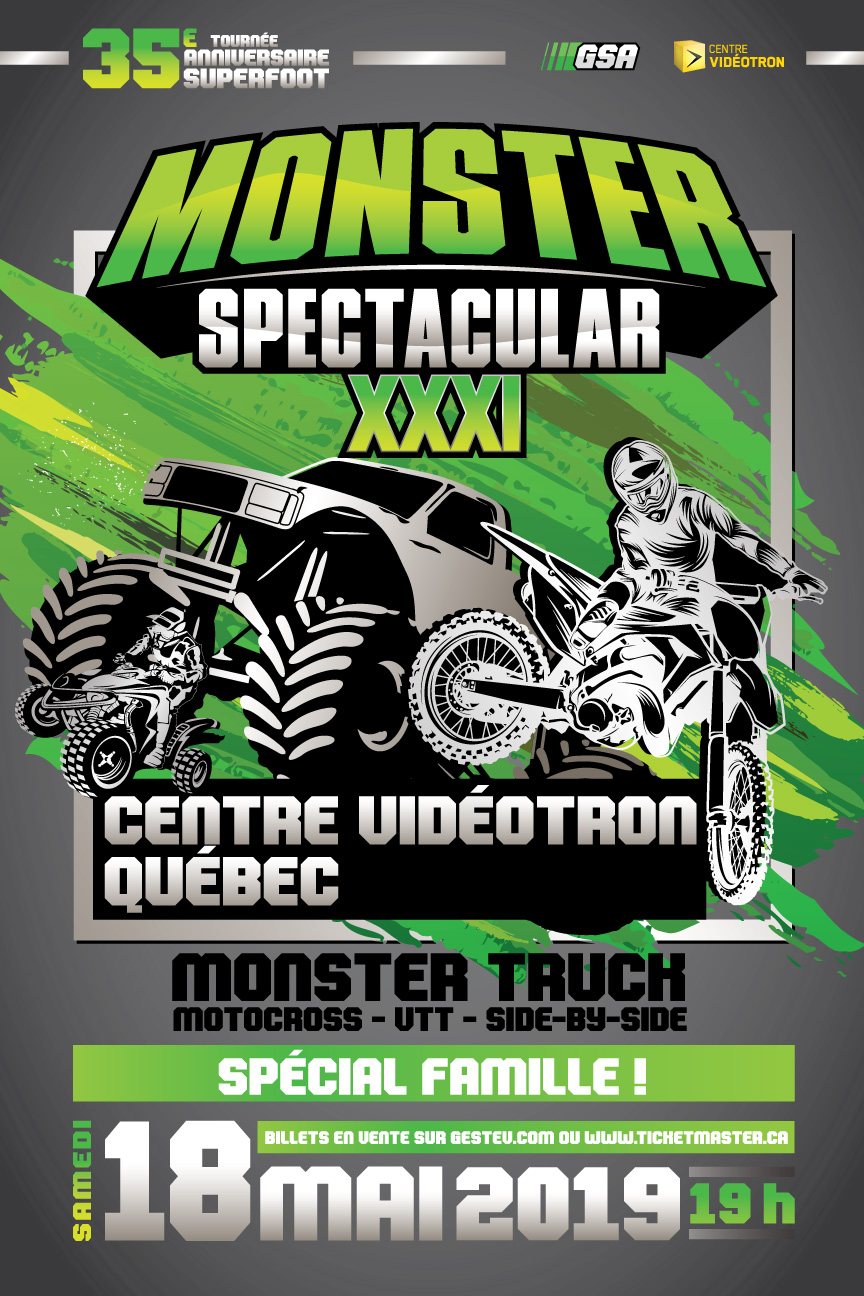 Monster Spectacular Québec