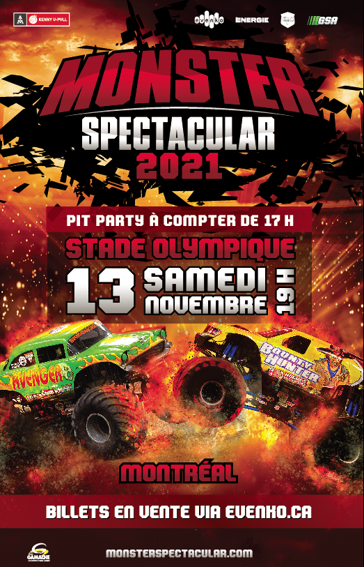 Monster Spectacular – Montreal